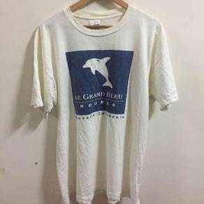 Vintage Screen Stars Shirt Le Grand Bleu Size XL