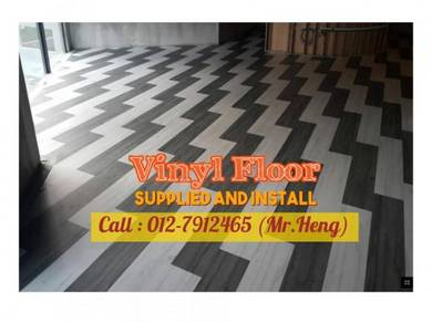 Modern Design PVC Vinyl Floor - With Install TU83