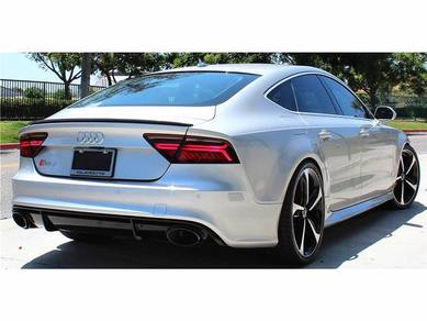Audi A7 Add On Boot Spoiler