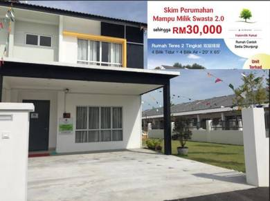 [cheapest] rawang new 2 storey house selayang, batu caves