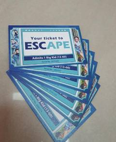 Escape Penang Entry Ticket Puchong PJ Sunway