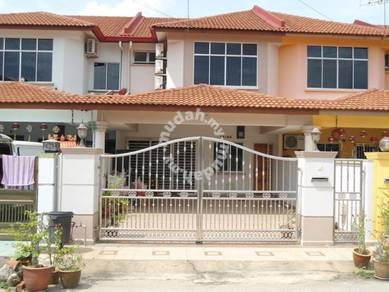 Double Storey Link House In Kuantan Town