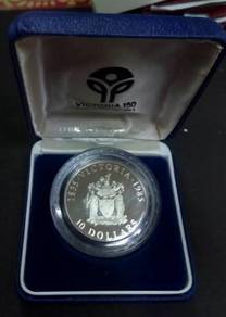 1985 10 Royal Australian Mint Proof Coin