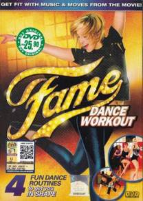 DVD FAME DANCE WORKOUT Exercise Slim Body