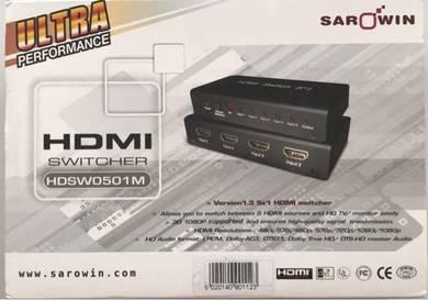 SAROWIN HDMI Switcher (HDSW0501M)