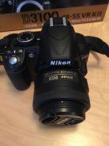 Camera DSLR Nikon model D3100 Fullkit
