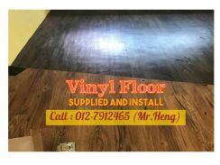 Natural Wood PVC Vinyl Floor - With Install YZ95