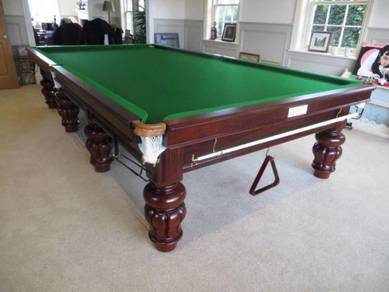 Antique Full Size Snooker Table Fully Restored