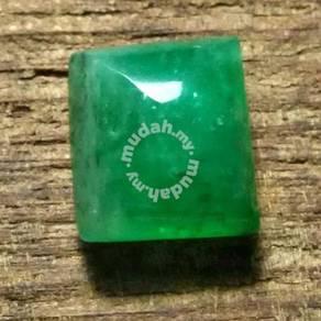 Batu Zamrud Zambia Asli | Emerald E63