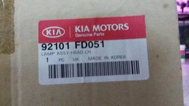 Kia rio headlamp original new