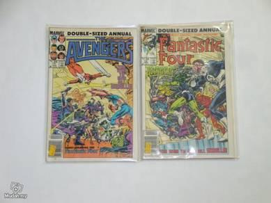 Avengers Annual 14 - Fantastic Four Annual 19