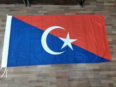 Bendera Daerah Johor Standard Saiz