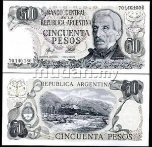 Argentina 50 peso 1976-78 p 301 unc