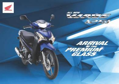 Year 2021 Honda Wave 125i(2 DISC) Promosi Hebat!!!