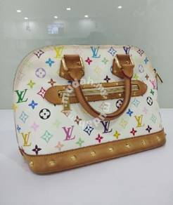 Louis Vuitton Alma Multicolor handbag
