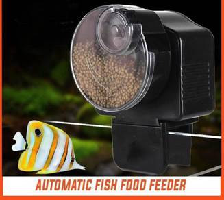 Automatic fish food feeder 09