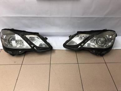 Mercedes Benz W212 Head Lamp Front Headlamp