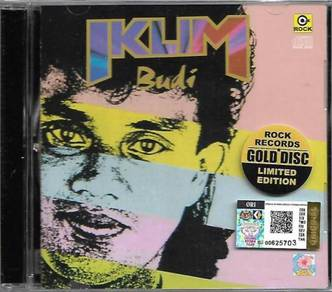 CD Iklim Budi Gold Disc Limited Edition