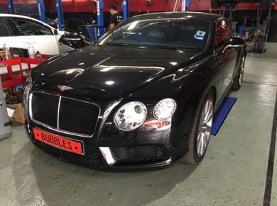 Bentley GT FULL MOBIL 1 ENGINE OIL SERVICE