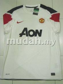 Manchester United Away 10-11 Player Issue Size L
