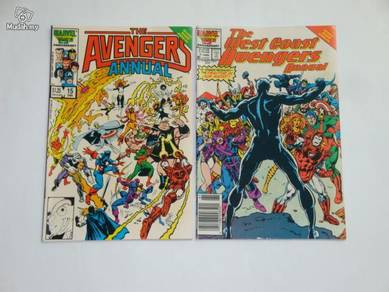 Avengers Annual 15 - West Coast Avengers Annual 1