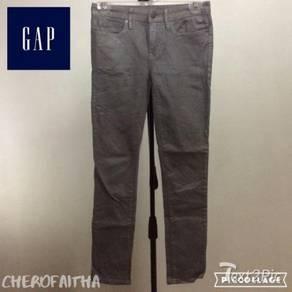 Seluar skinny GAP kelabu gray grey stretchable jea