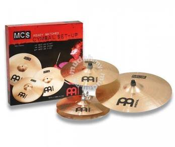Meinl MCS Cymbal Set Pack(14.16.20)