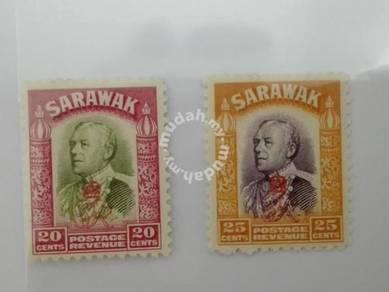 (RB 087) 1934 Sarawak Old Stamps Lot#3 - MLH