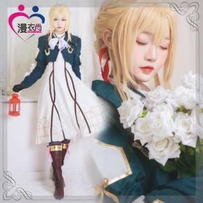 Violet Evergarden Cosplay costume with Jacket Dre