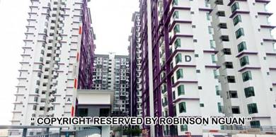 FAST Grab- New Condo furnished The Height Bukit Beruang, Ayer Keroh