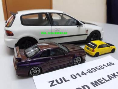 Diecast LIMITED EDITION Eg6 Ek9 R34 Spoon Mugen