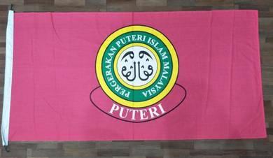 Bendera Badan Beruniform Saiz 3' x 6' Cotton
