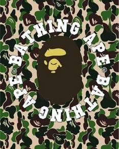 Bathing ape bape poster