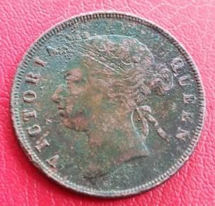 Straits Settlements 1 Cent 1895