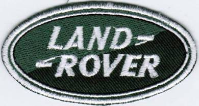 Land Rover Rally Car Motorsport Racing Patch Badge