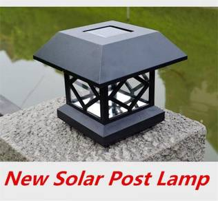 Waterproof Solar NPost Lights LED Chapiter Lamp