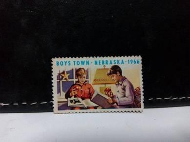 1966 USA Stamp, Boys Town