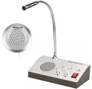 Window Intercom & Counter Interphone System