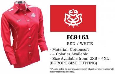 Baju Kemeja Korporat UMNO Uniform V1F Female