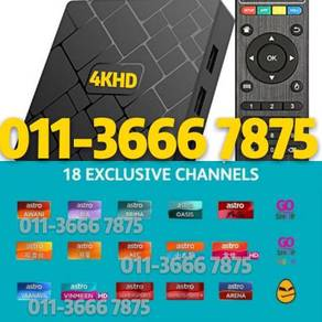 Malay Tv Box fullSTRO Android L1FETIME iptv