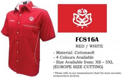 Baju Kemeja Korporat UMNO Uniform V1M Lelaki