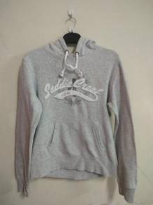 Sweater Hoodie L.O.G.G size M Grey Color