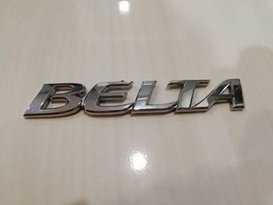 Emblem Toyota Belta for Vios