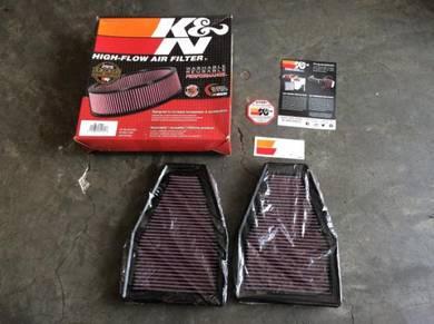 K&N drop in filter for PORSCHE 911 12-14'