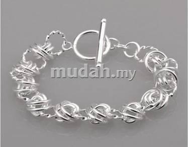 ABBS9-S003 Vogue Silver 925 Bracelet 210 x 14mm