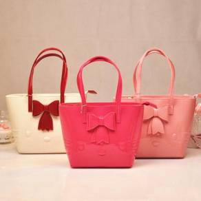 Hello Kitty Pink white black red handbag slingbag