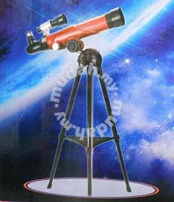 Telescope set with tripod for beginner
