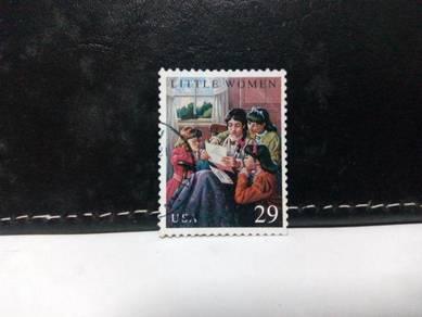 1993 USA Stamp, Little Women, Children's Book