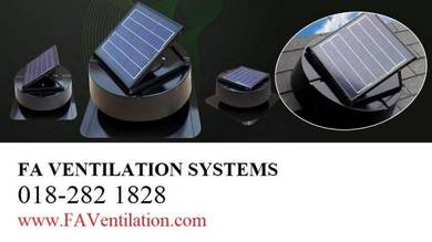 MQ21-G FA Solar Powered Roof Ventilator Germany