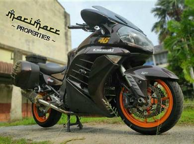 Kawasaki gtr1400 condition cun like new 2012